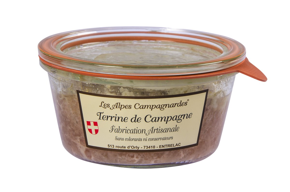 Terrine de campagne nature
